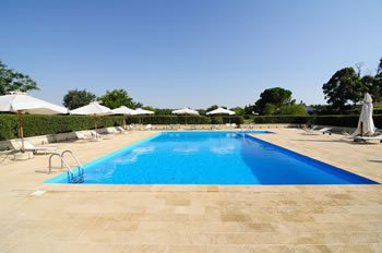 Agriturismo swimming pool